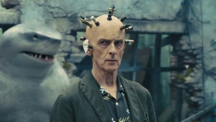 Peter Capaldi as The Thinker in The Suicide Squad.