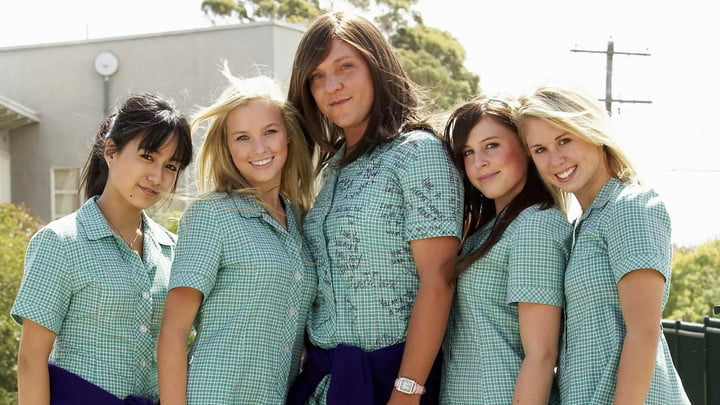 Chris Lilley and cast in Summer Heights High.