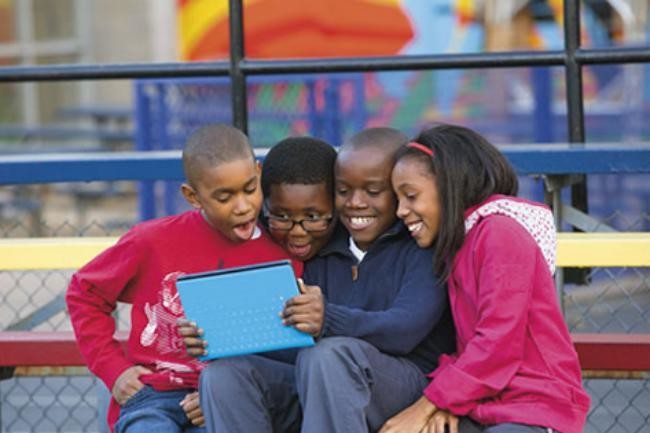 microsoft bing for schools surface rt prize kids