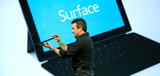 Microsoft Surface unveiling tablet