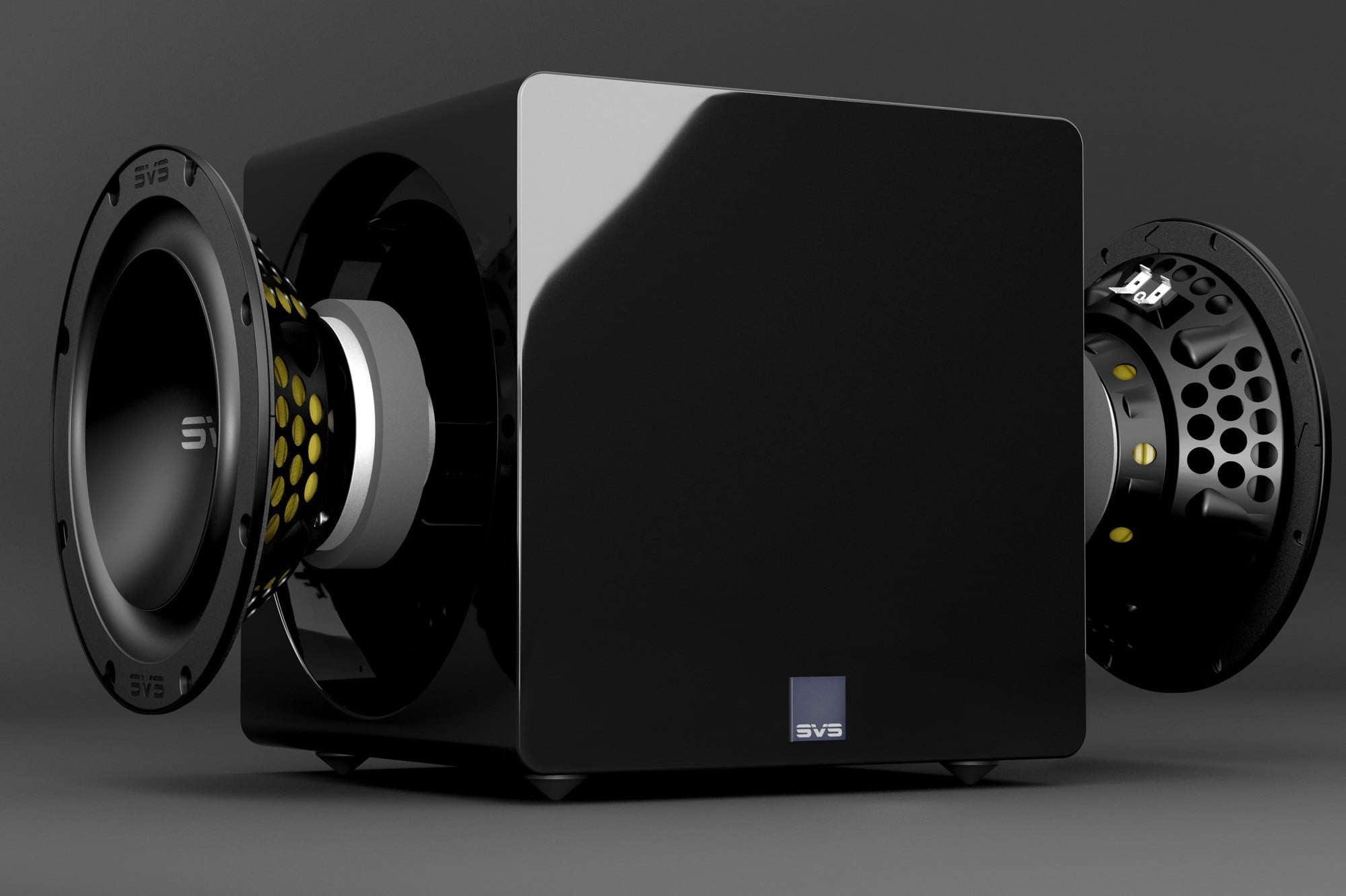 SVS 3000 Micro subwoofer exploded view