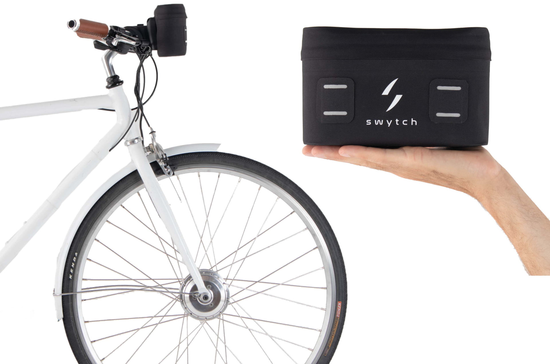 compact swytch kit converts any bike to an e for sustainable transport 3