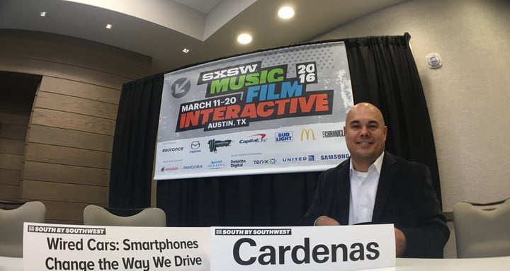 Pioneer VP Ted Cardenas at SXSW Pioneer Ted Cardenas at SXSW