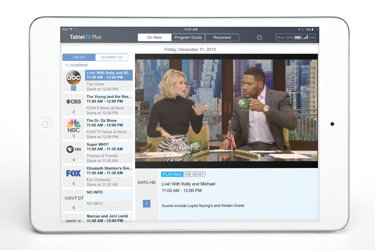 tablet tv first look hands on video review tablettv ios app 7