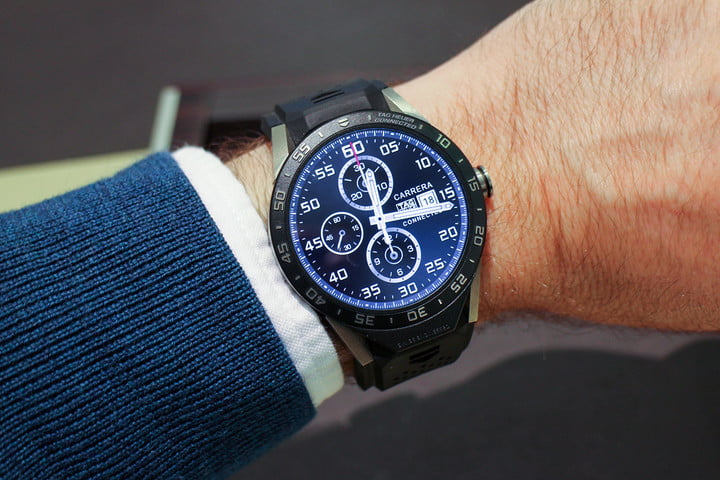 tag heuer hublot zenith smartwatches 2017 news carrera connected hands on review 20