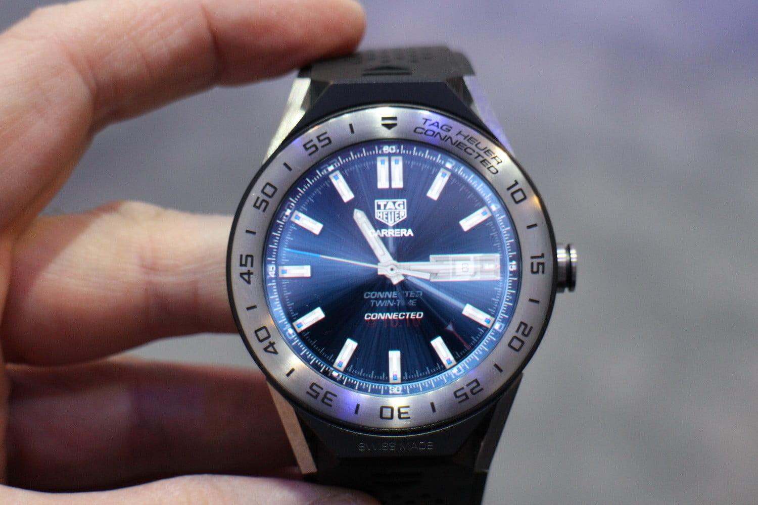 Tag Heuer Connected Modular 45 Hands on