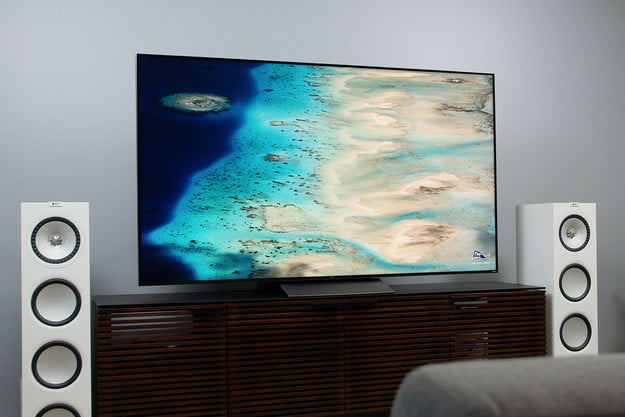 Island/Beach imagery on the TCL 6-Series model R648 screen.
