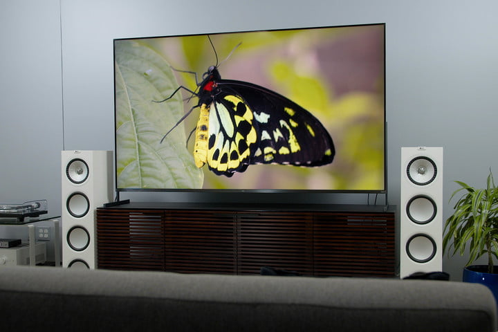 The TCL 85R745 85-inch 4K HDR TV.