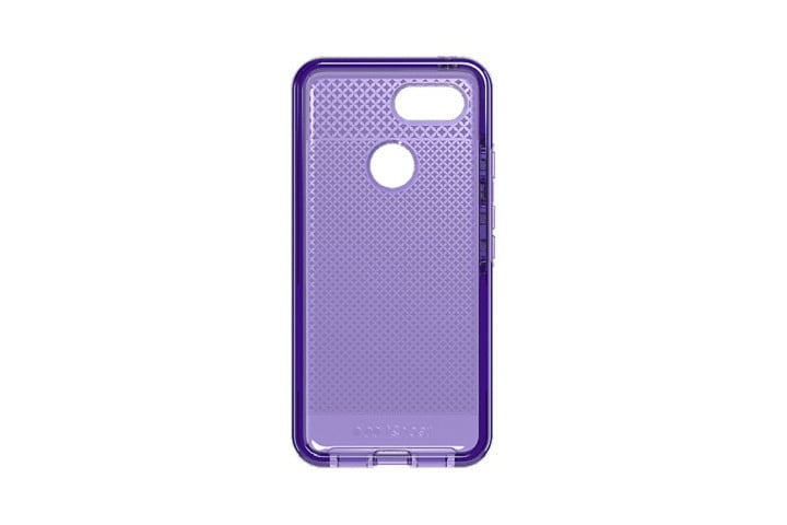 Tech21 Evo Check Case in translucent ultraviolet for the Google Pixel 3.