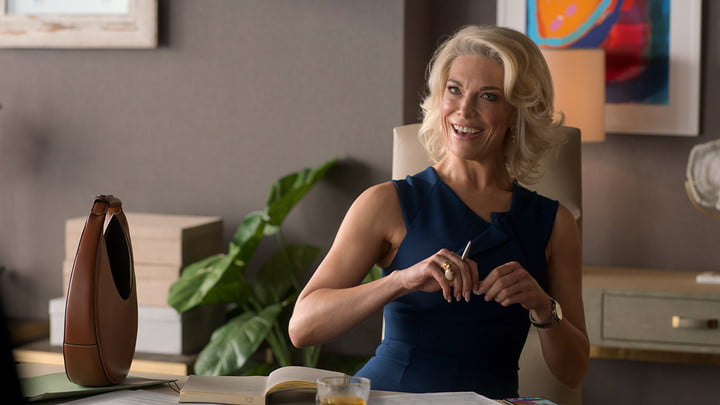 Hannah Waddingham as Rebecca in Ted Lasso.