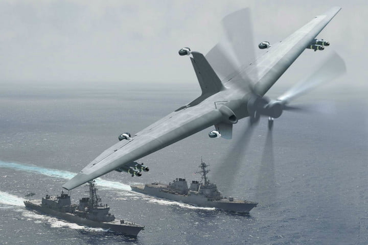 darpa developing drones capable of landing on small ships tern1