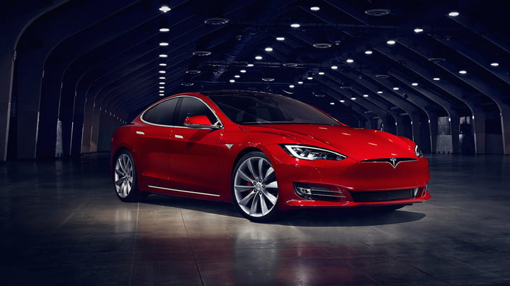 tesla 75kwh battery pack already in model s updates front 34