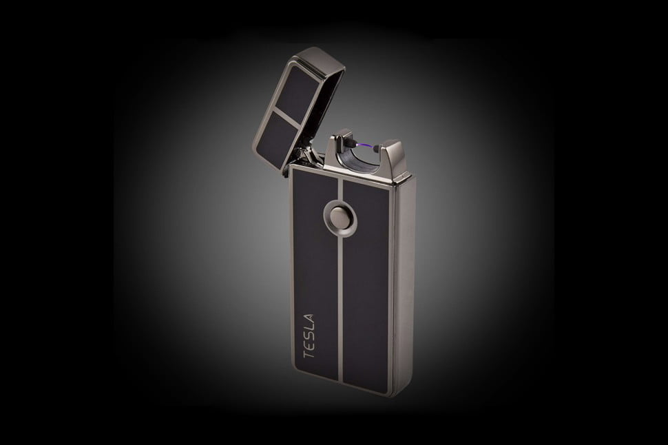 awesome tech you cant buy yet january 3 tesla  shake to charge electronic lighter