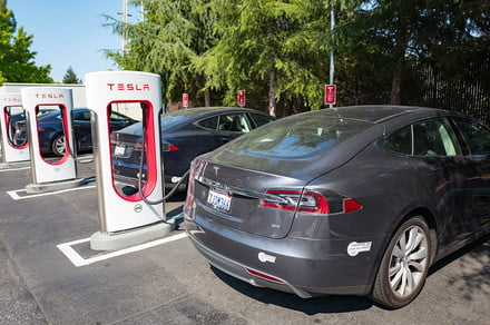 Elon Musk: Tesla Will Open up Superchargers to Other EVs