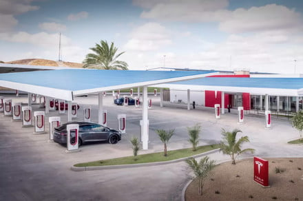 Elon Musk reveals how non-Tesla EVs will use Superchargers