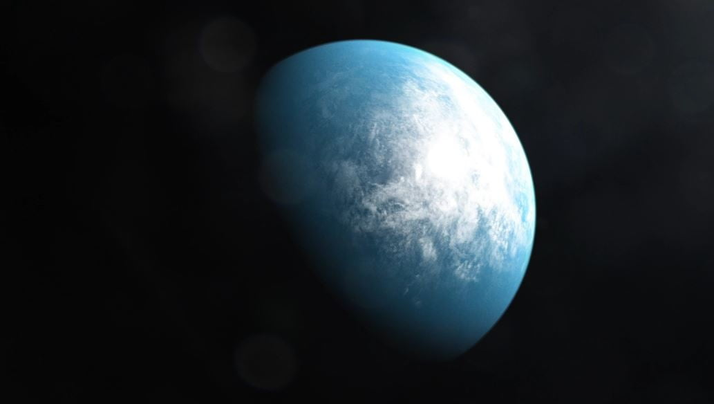An illustration of planet TOI 700 d