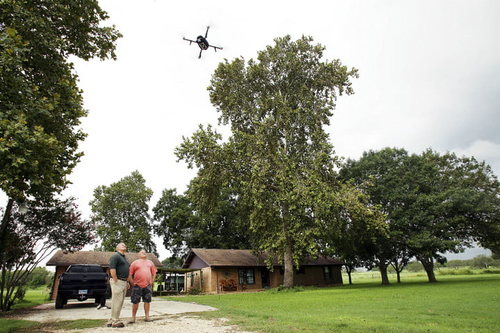 insurance company uses drones to inspect homes texas drone test high res 02