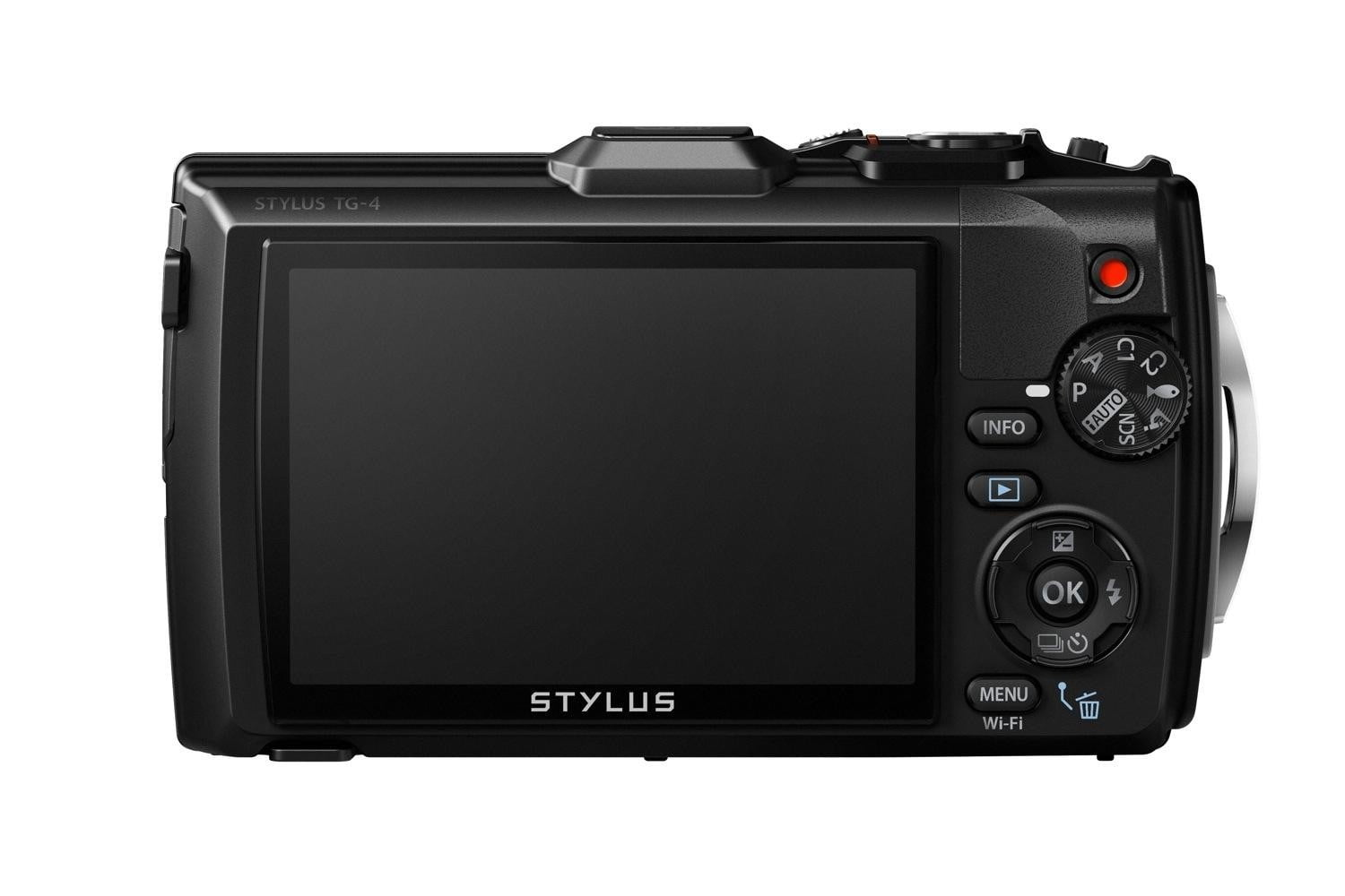 olympus tg 4 is first rugged compact to shoot uncompressed raw photos blk back