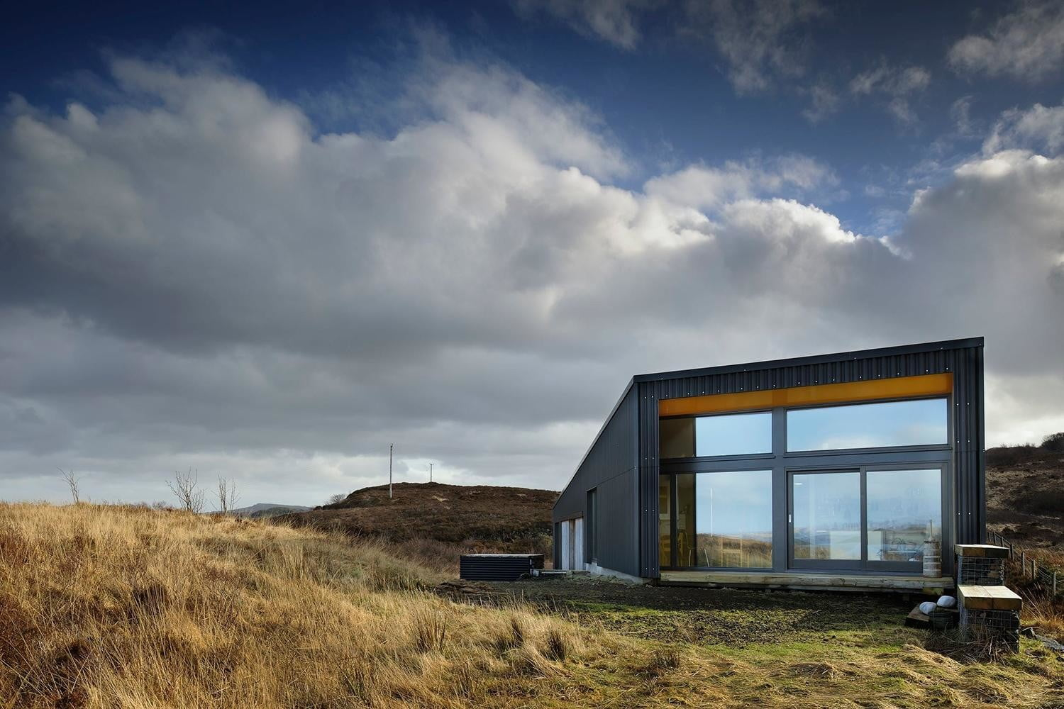 retreat from society and relax in these idyllic cabins around the world black shed 11