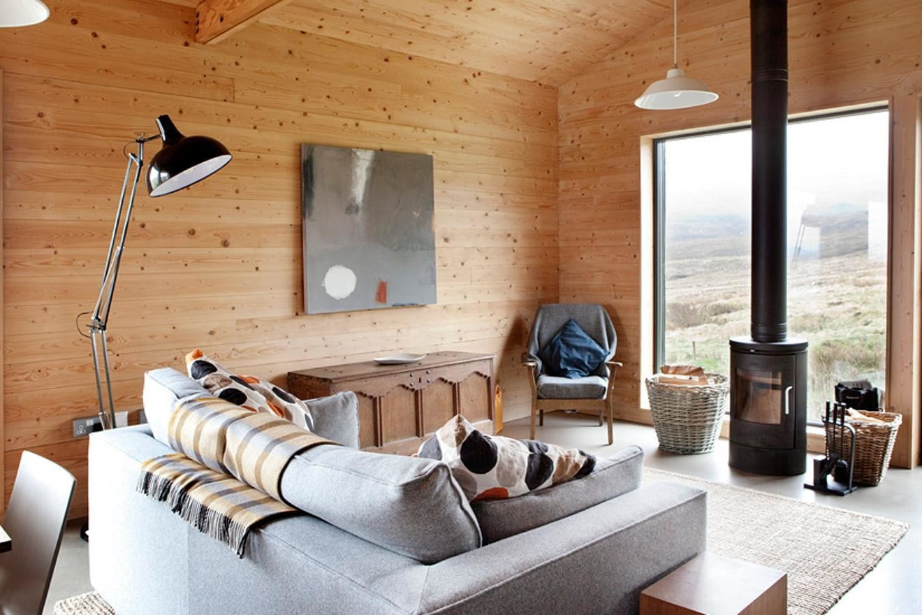 retreat from society and relax in these idyllic cabins around the world black shed 2