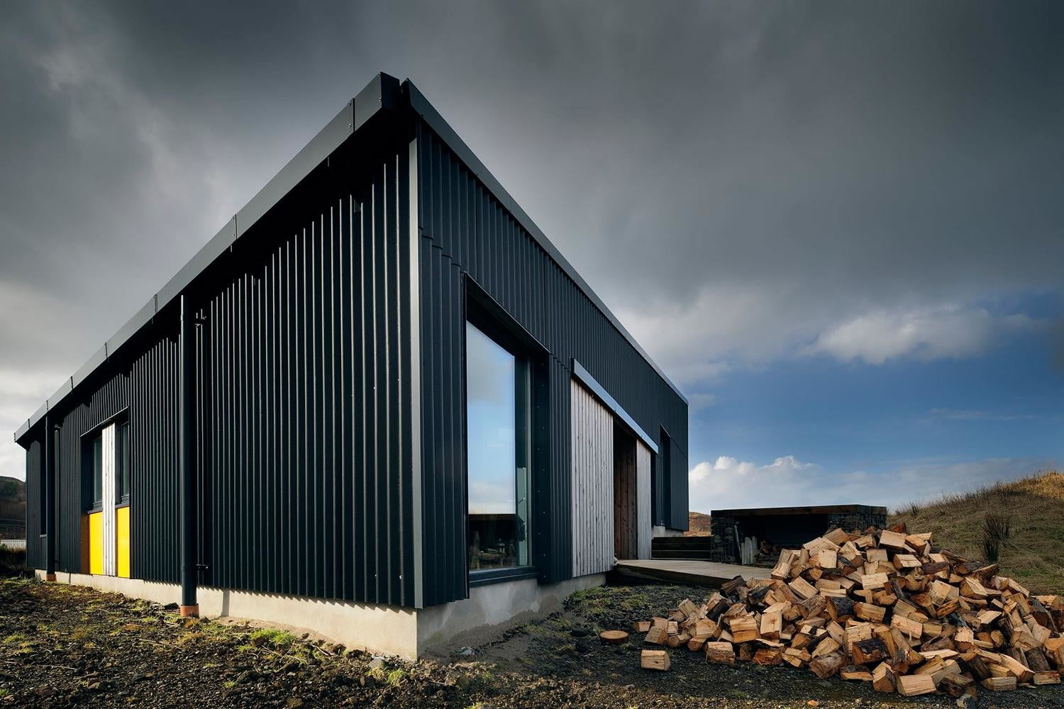 retreat from society and relax in these idyllic cabins around the world black shed 8