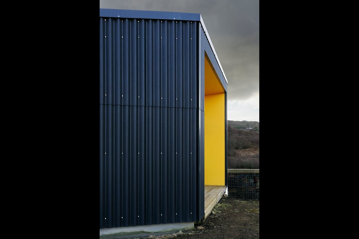 retreat from society and relax in these idyllic cabins around the world black shed 9