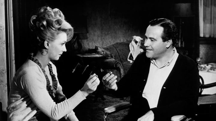 Judi West and Jack Lemmon in The Fortune Cookie.