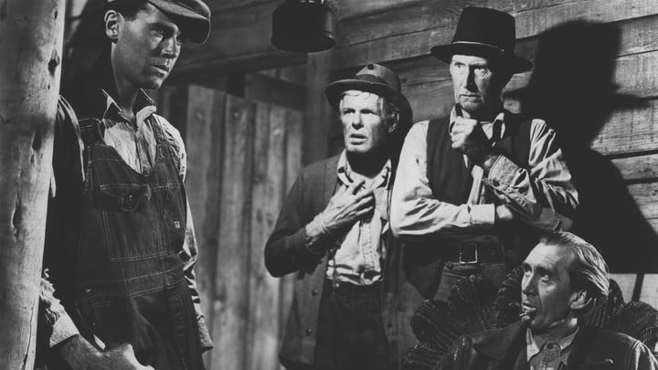 The cast of The Grapes of Wrath.