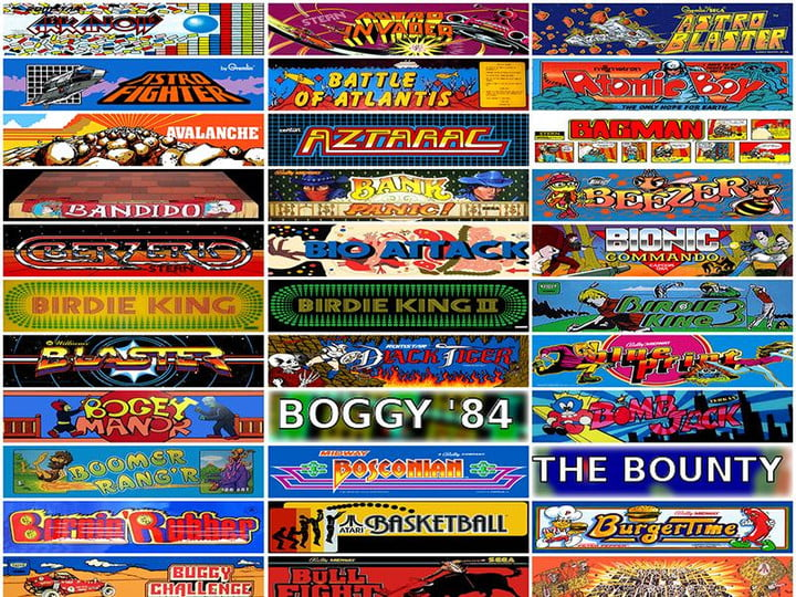 internet arcade lets play 900 classic games browser the