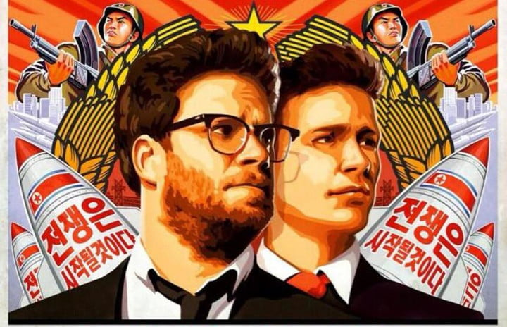 seth rogen and james francos the interview gets a new teaser trailer poster crop