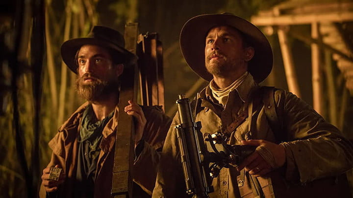 Robert Pattinson and Charlie Hunnam in The Lost City of Z.