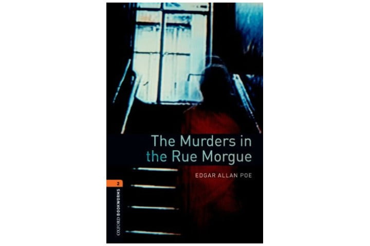 Picture shows the book cover with the shadow of a person going up a dark staircase towards a bright window at the top, and the book title underneath this