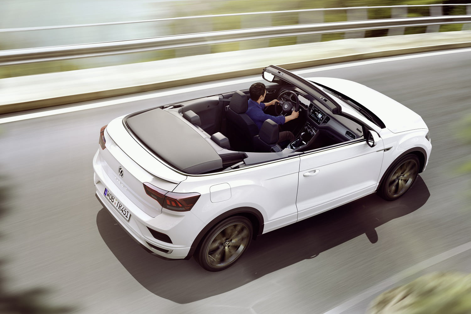 volkswagen introduces 2020 t roc cabriolet convertible suv the new