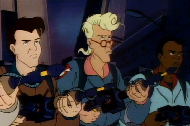 ghostsbusters animated movie the real ghostbusters