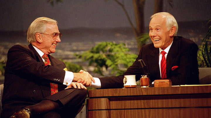 The Tonight Show Starring Johnny Carson on Peacock