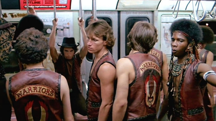 The cast of The Warriors.