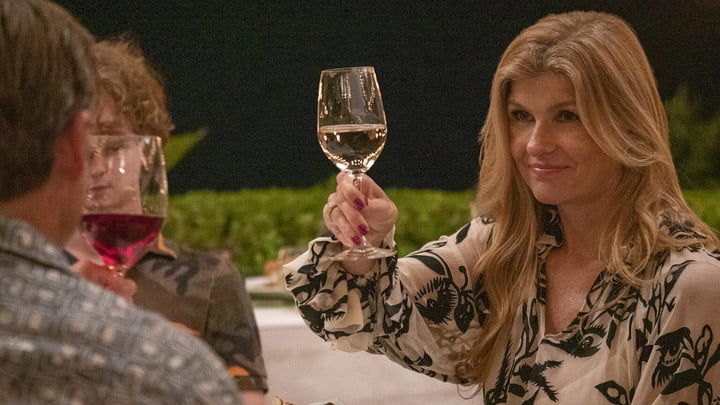 Connie Britton in The White Lotus on HBO Max.