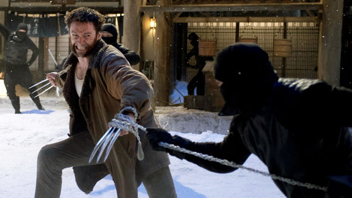 Hugh Jackman as the X-Men's Wolverine in the film The Wolverine.