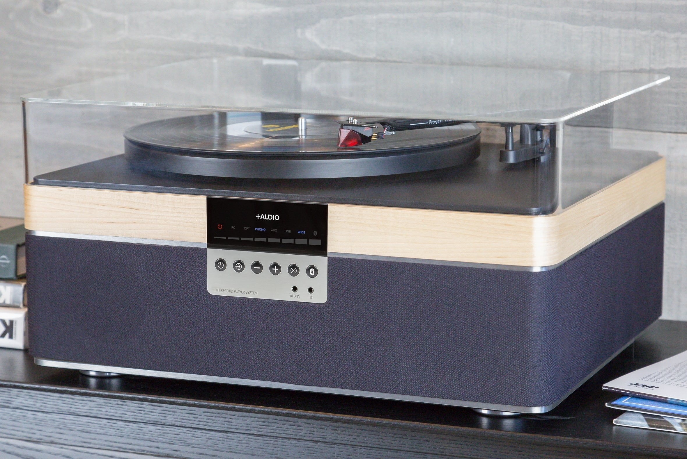 plusaudio therecord player turntable the record maple lifestyle 1180x 2x
