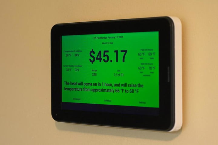 thermoneystat is a smart thermostat that works on dollars not degrees