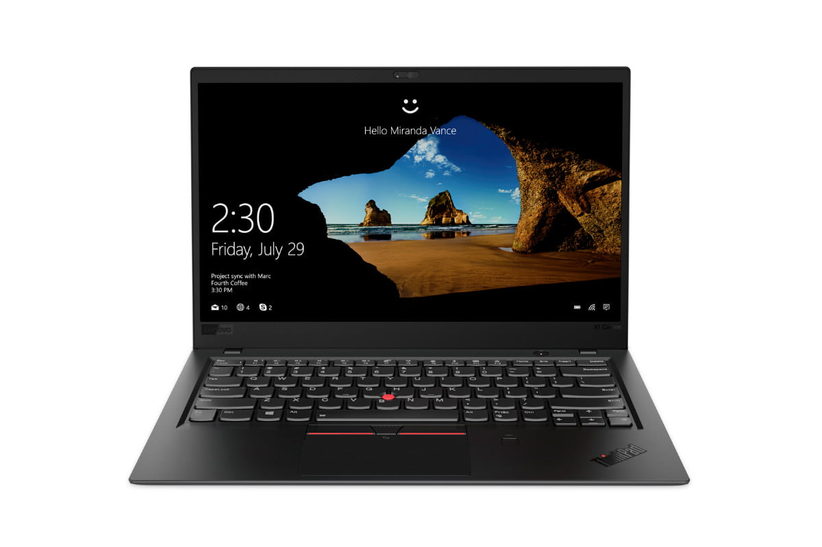 lenovo introduces updated thinkpad x1 line carbon black 1
