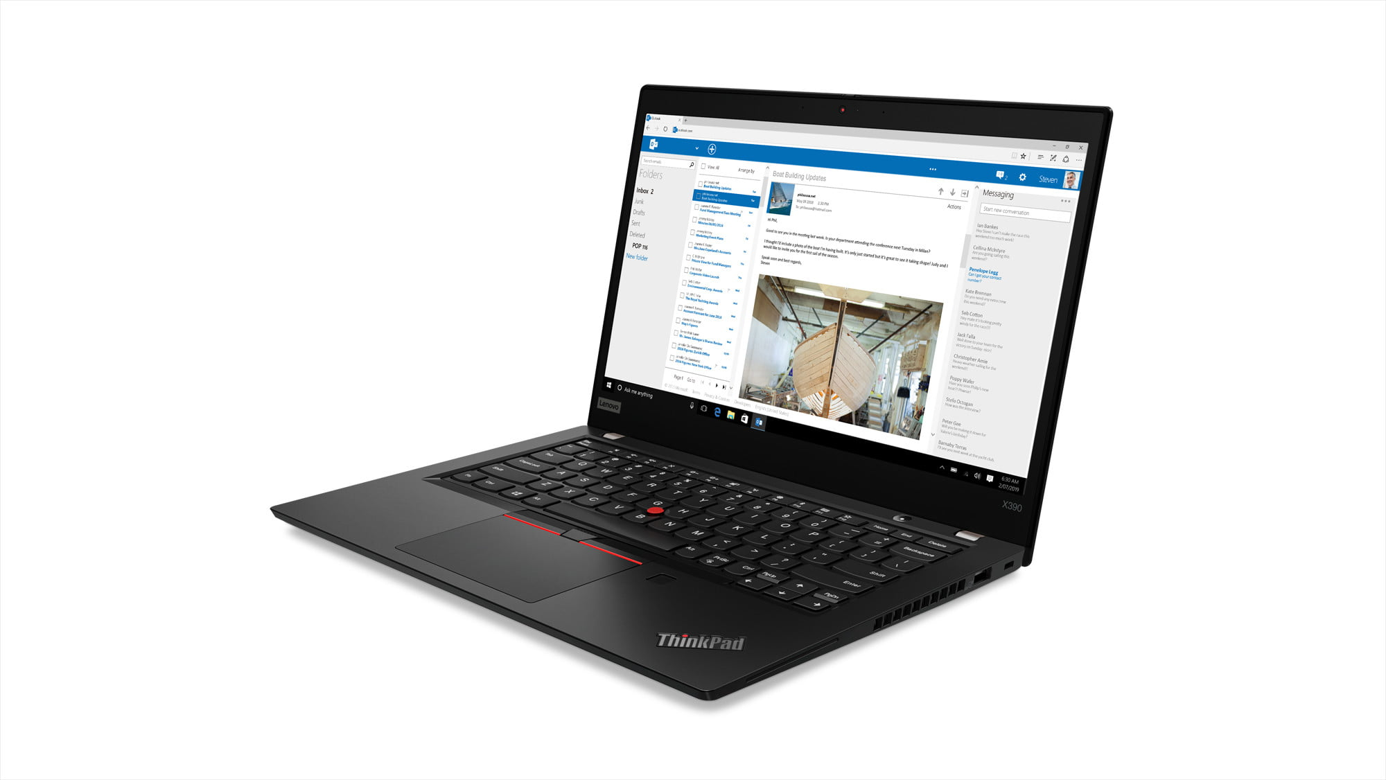 lenovo annouces new thinkpads with 10th gen cometlake thinkpad x390 4