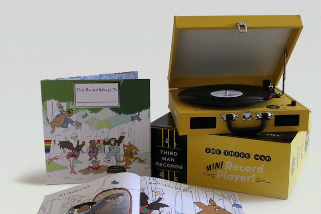 jack white wants to introduce your children vinyl this record belongs kids