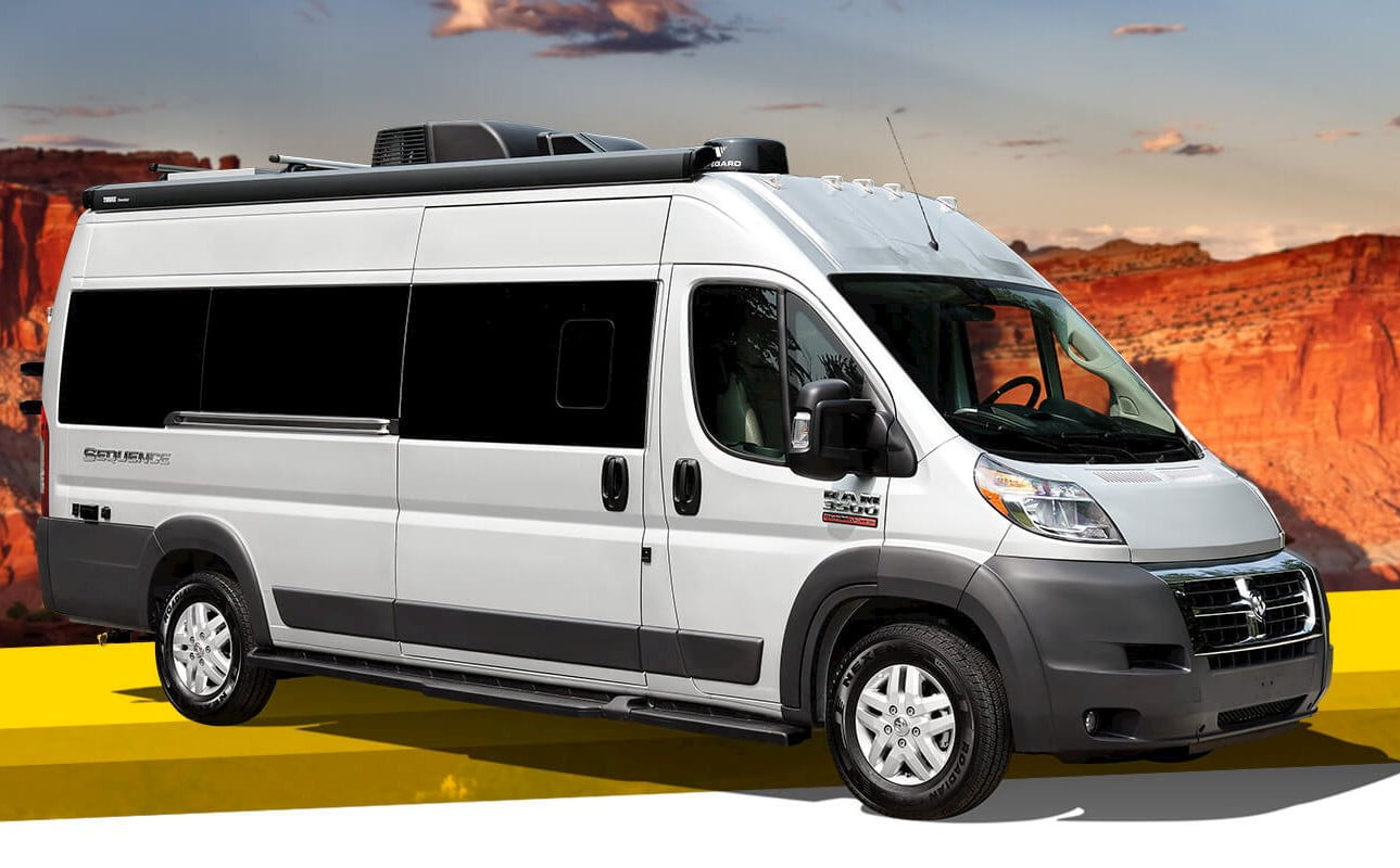 take your tech on the road with thor sequence smart class b rv motorcoach 0  1