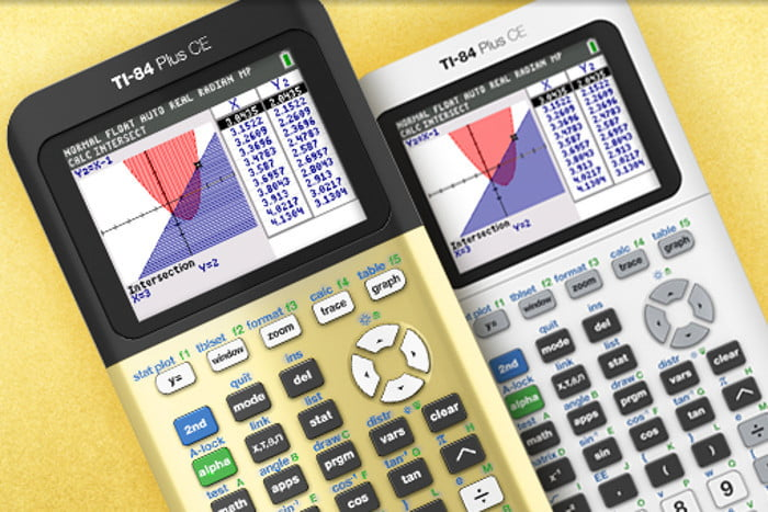 gold hue ti 84 plus ce graphing calculator
