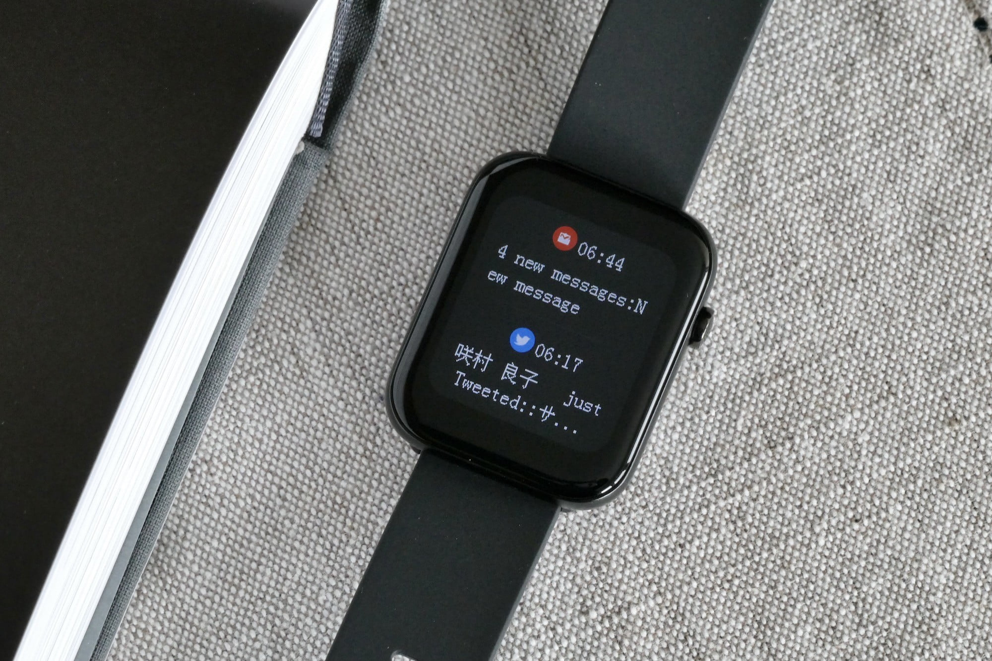 mobvoi ticwatch gth review notifications