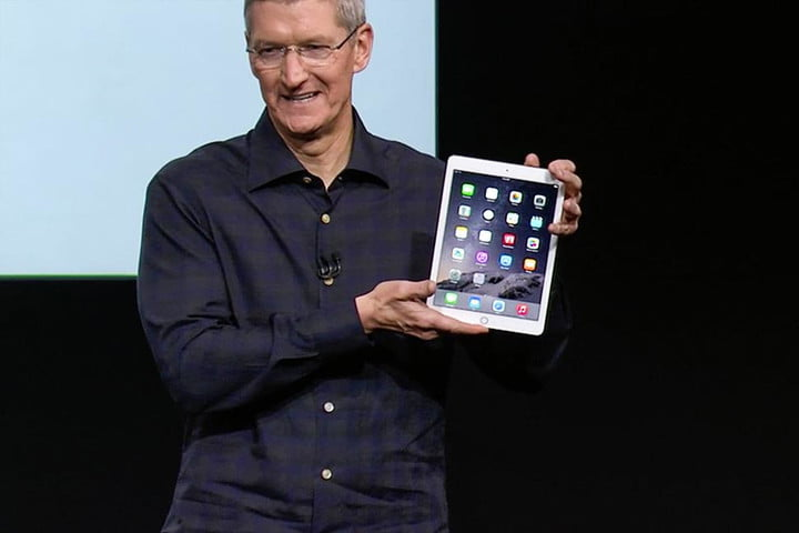 apple ipad connected classroom success tim cook air 2