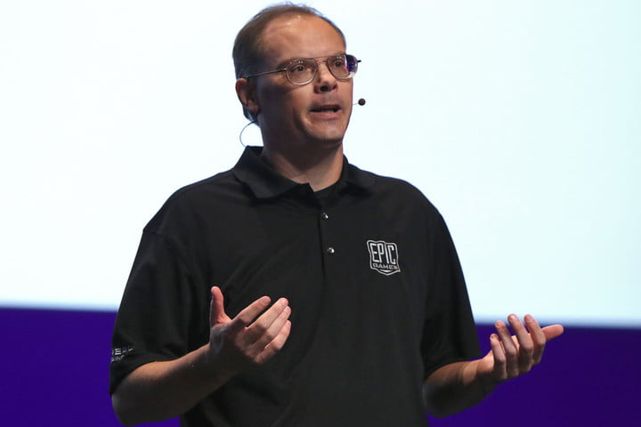 tim sweeney windows 10 crush steam edition  founder and ceo at epic games 2