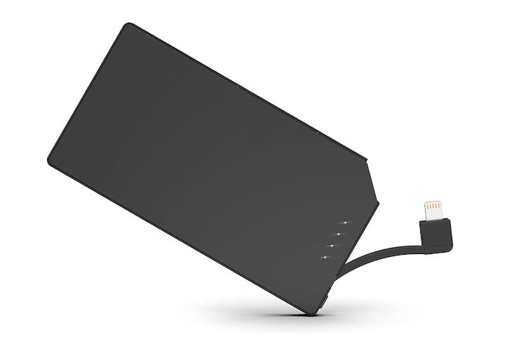 Tntor's extremely thin portable charger.