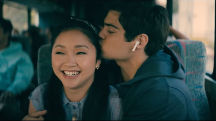 Lana Condor and Noah Centineo in All the Boys 3